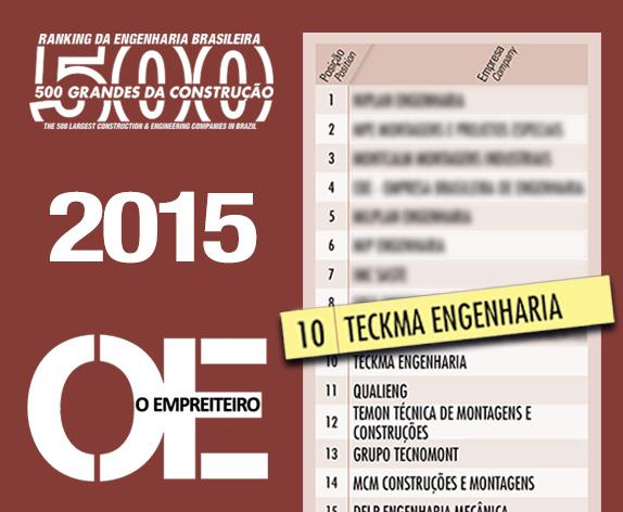 Ranking 500G 2015 Teckma 10c
